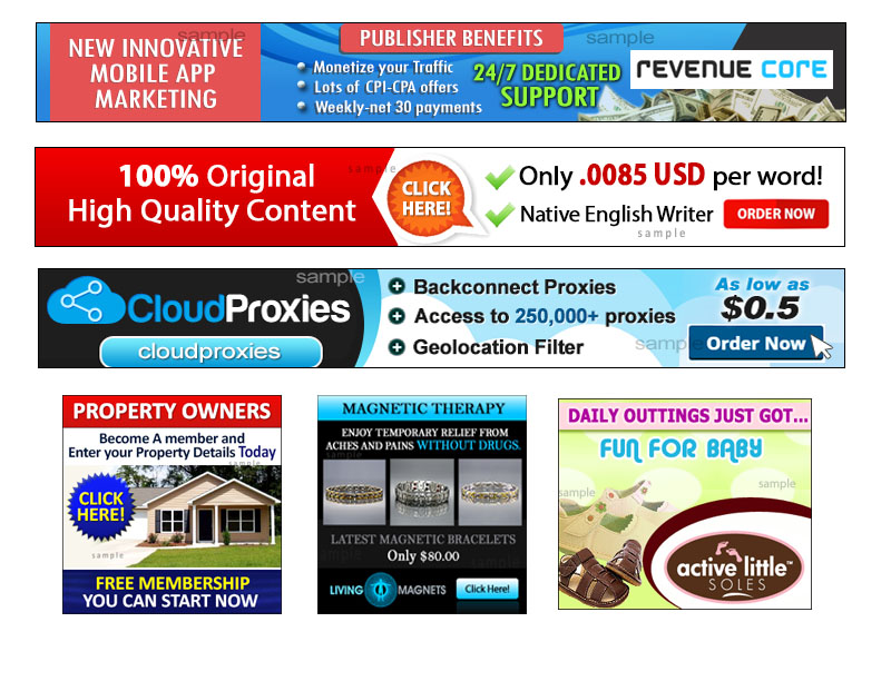 WEB BANNER/HEADER/ADS Design service