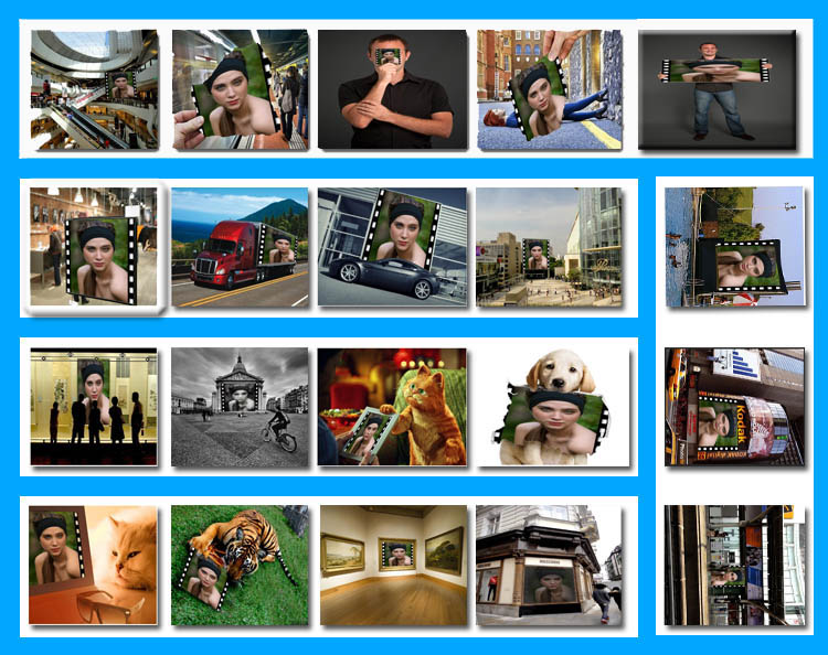 I will put photo or logo on 65 BILLBOARD city posters