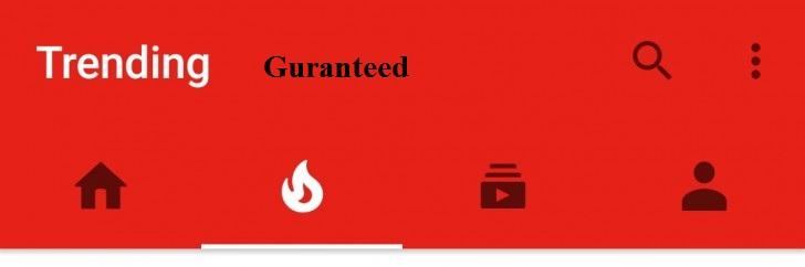 Get Your Video in YouTube Trending