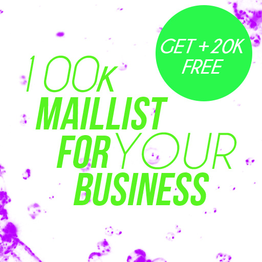 100k Mail-List Choose your niche
