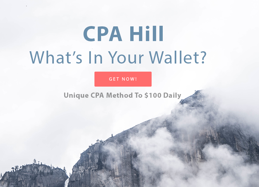 2017 Unique CPA Method To $100 Dollars Daily