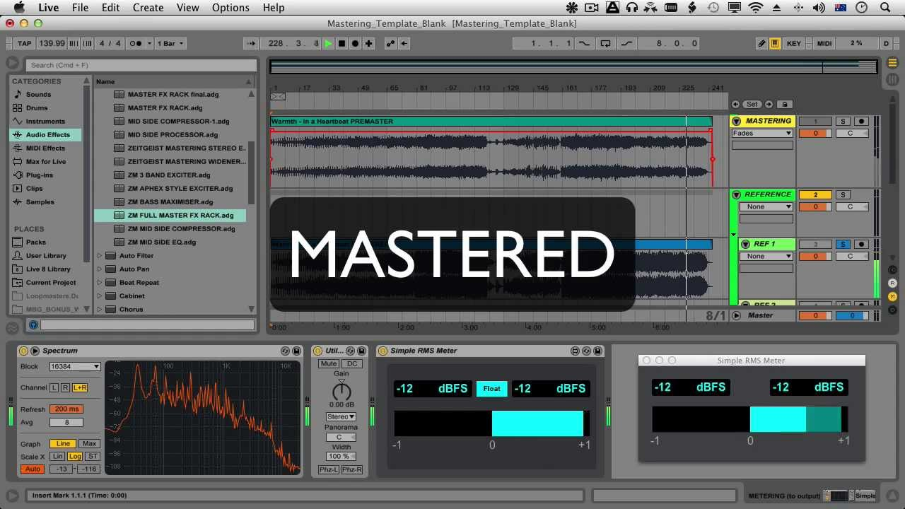Master your mix professionally