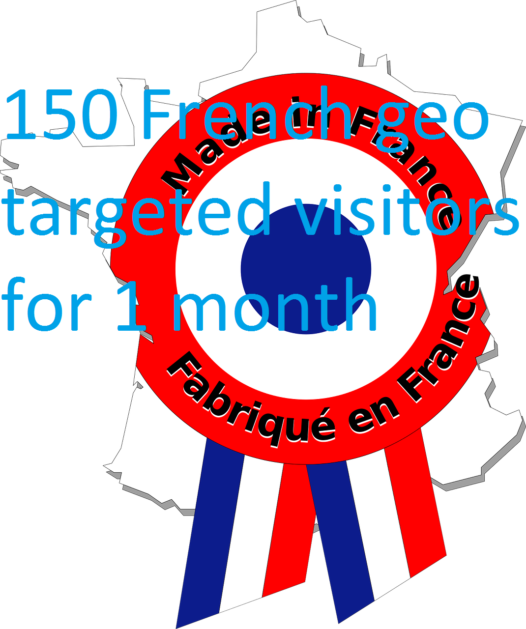 Increase your traffic by 150 FRENCH visitors per day for 1 month