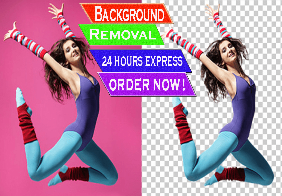 I can remove 15 images background professionally