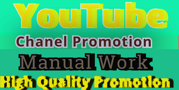 i Will Do Manually Youtube subcribers Promotion High Quality NON-DROP Guarantee