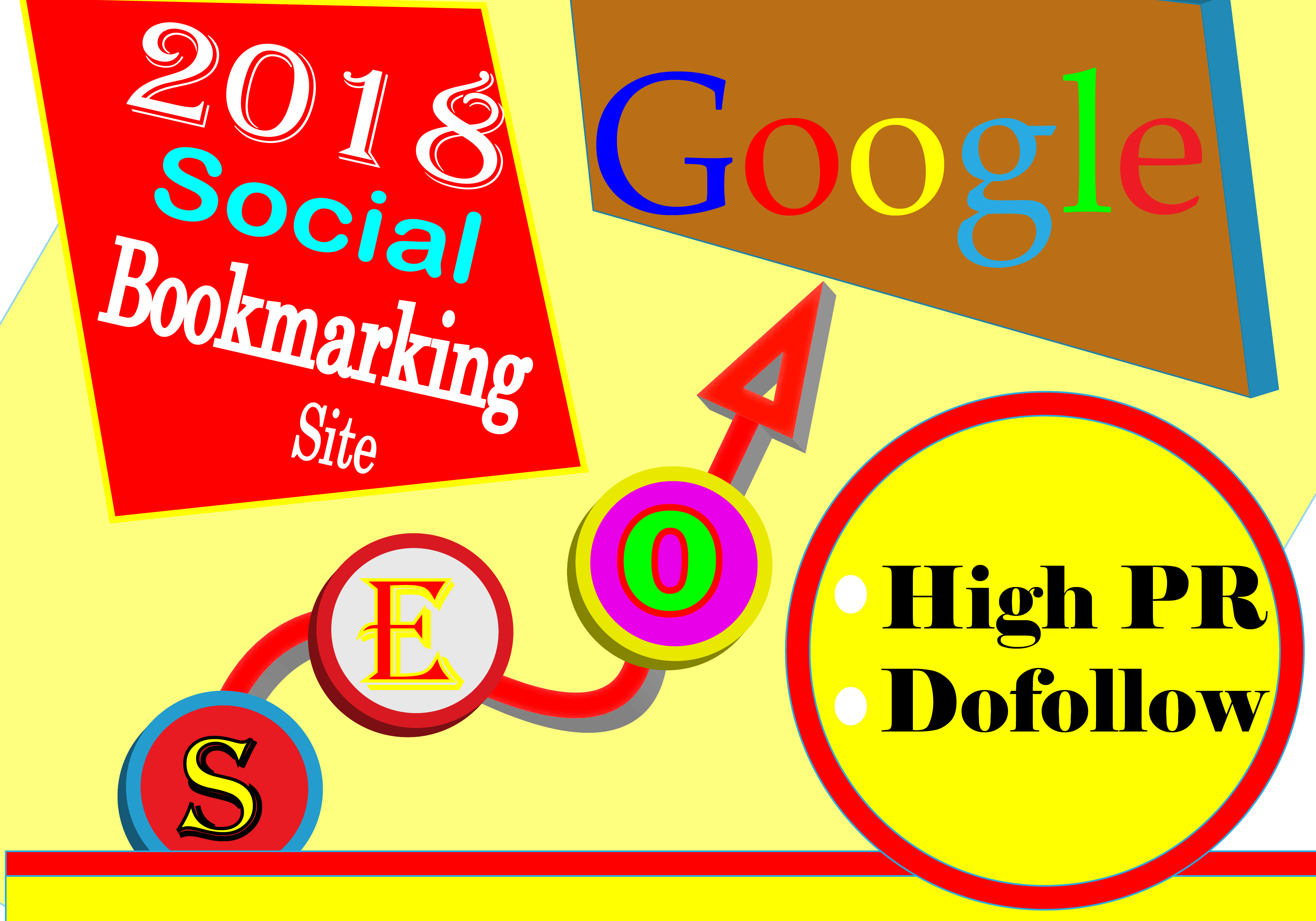 create 40 Social Bookmarking Backlinks for you