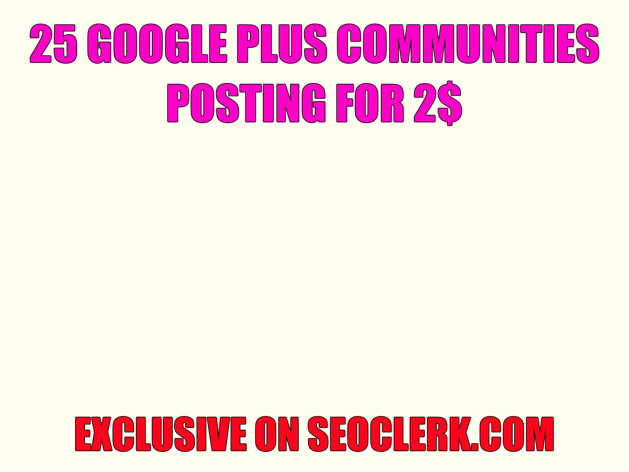 25 Google plus communities post