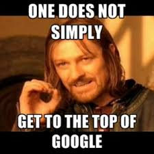 Rank your website at the top in google search.