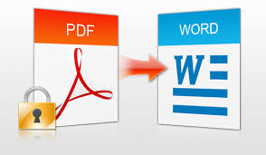Type and convert image/scanned pdf to word