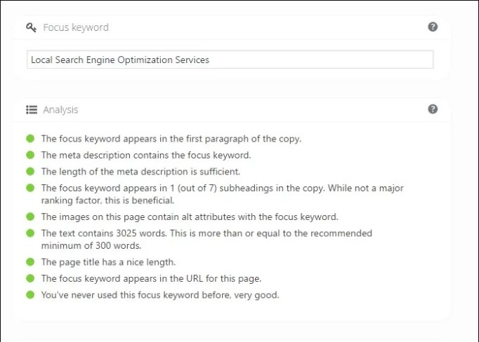 I provide On Page Yoast SEO Optimization