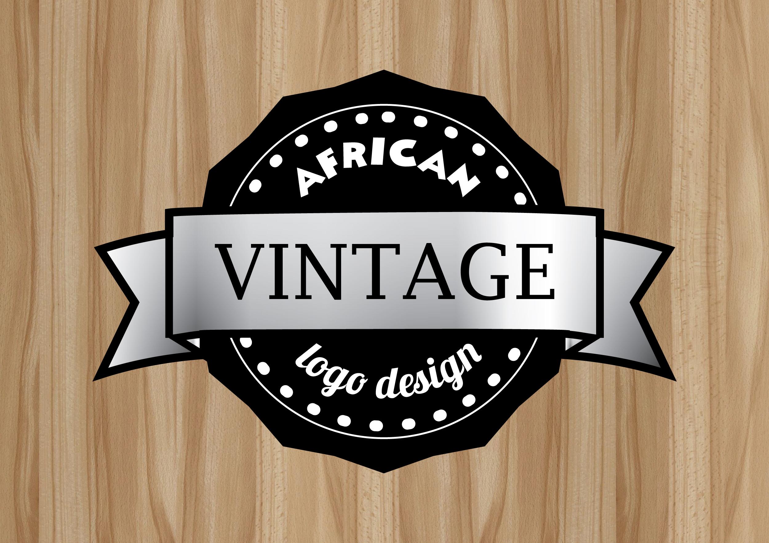 Design African Logo for you