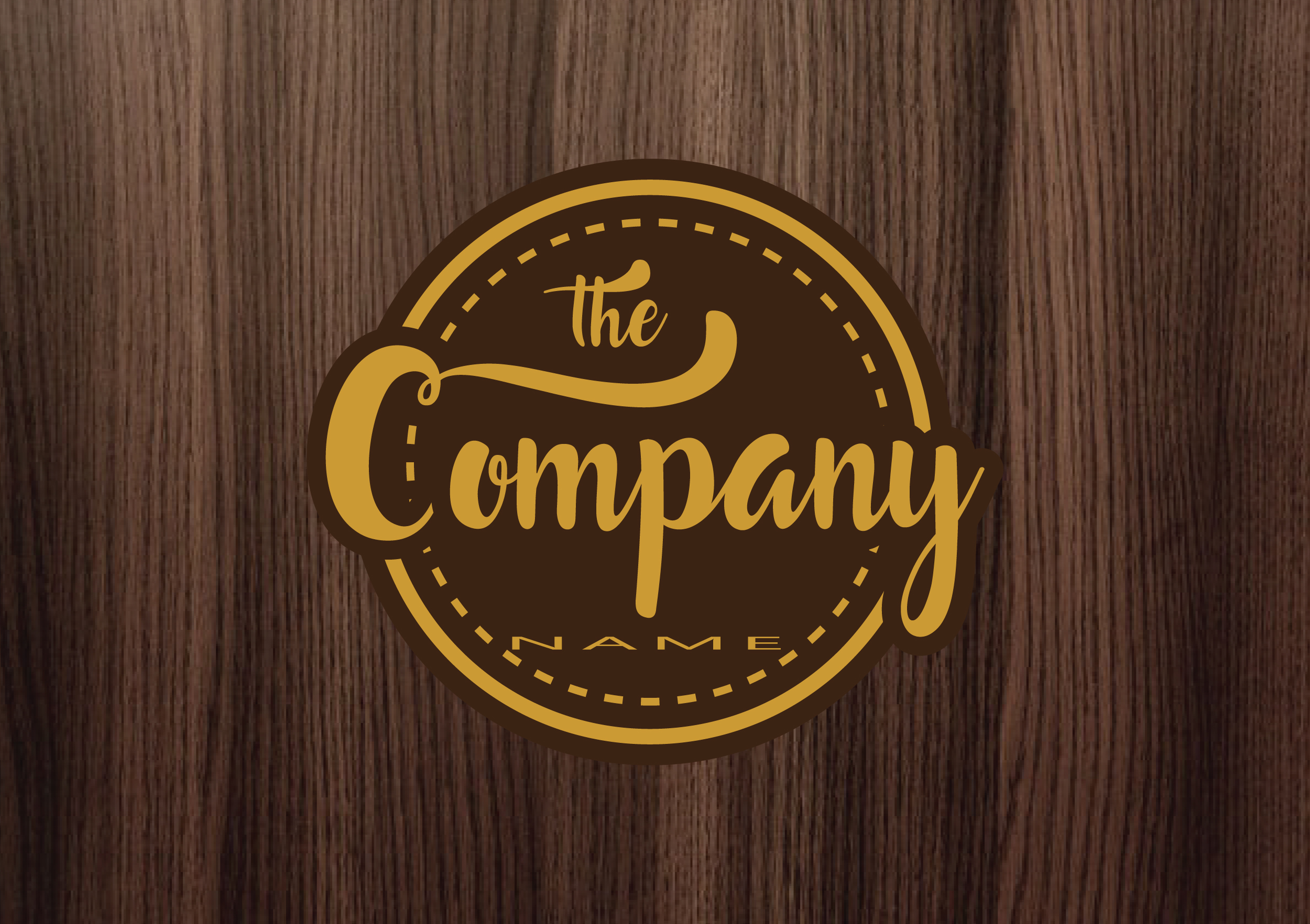 Design Vintage Logo just for you