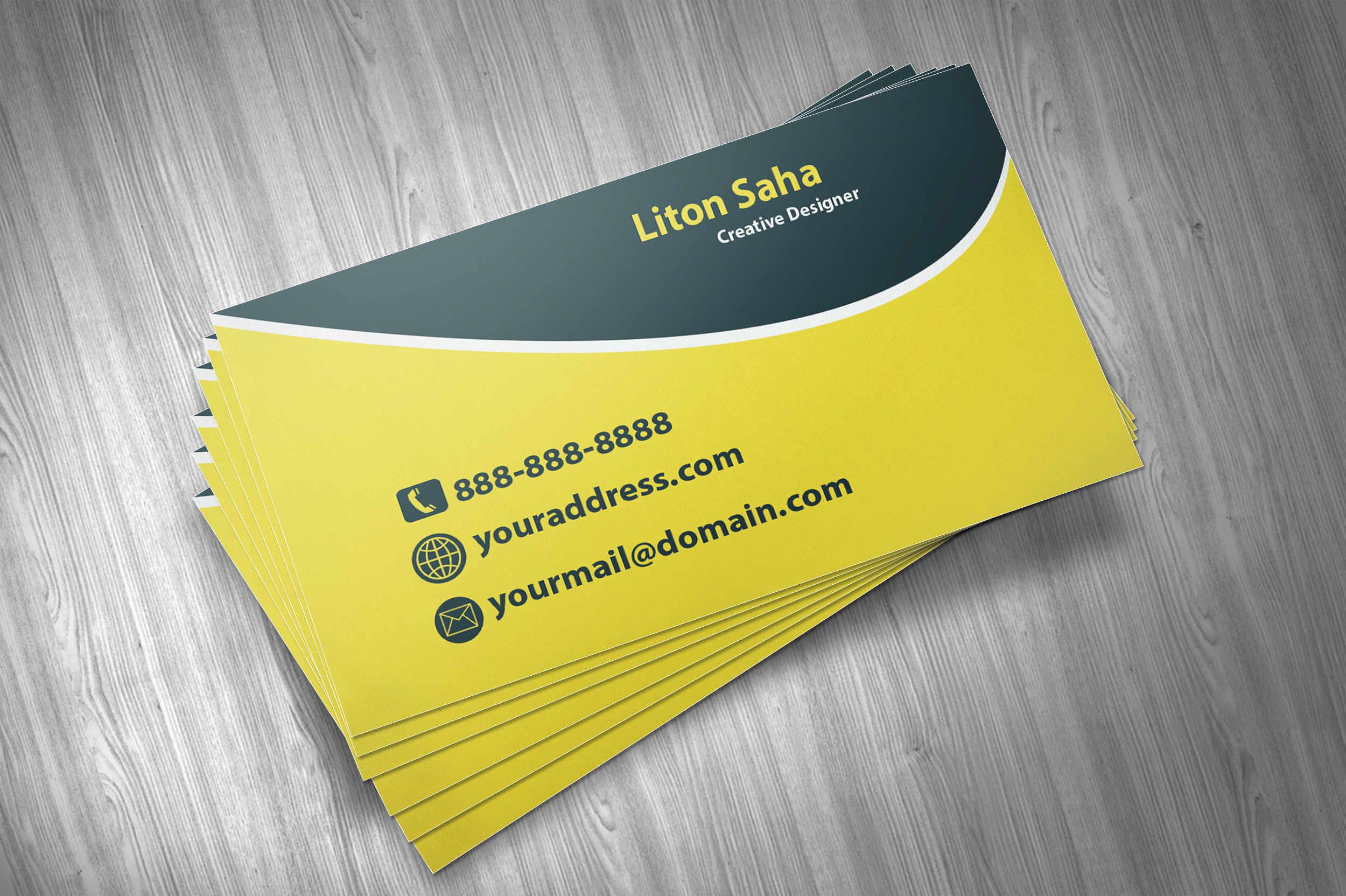 Create Professional Shape Business Card for $5 - SEOClerks