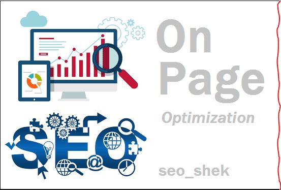 SEO I will do or fix your On page SEO
