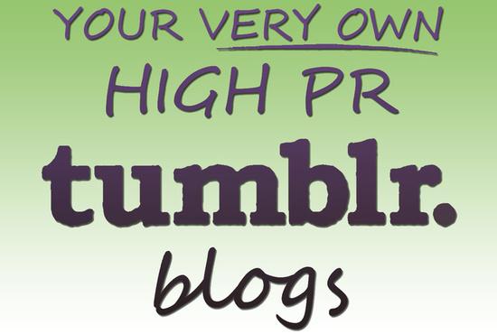 Expired Tumblr Blogs