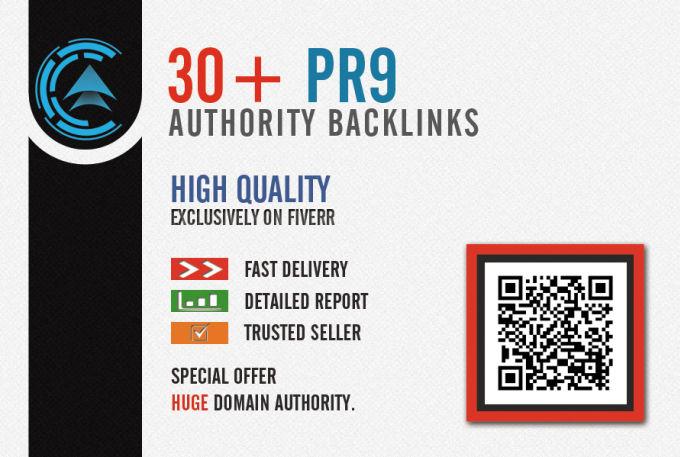 I will create high PR backlinks, exclusive seo Iinks
