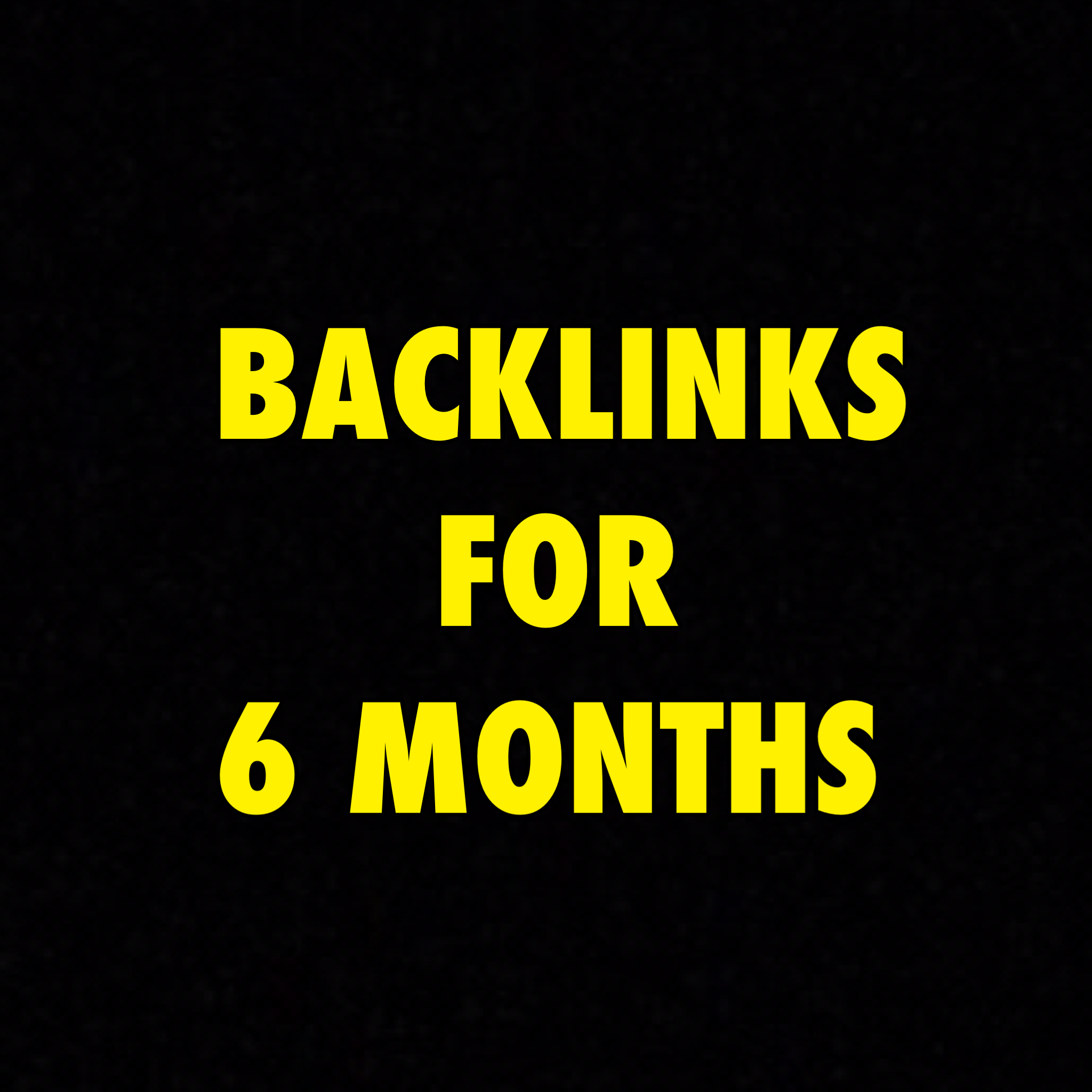 6 Months Of Backlinks with a weekly report
