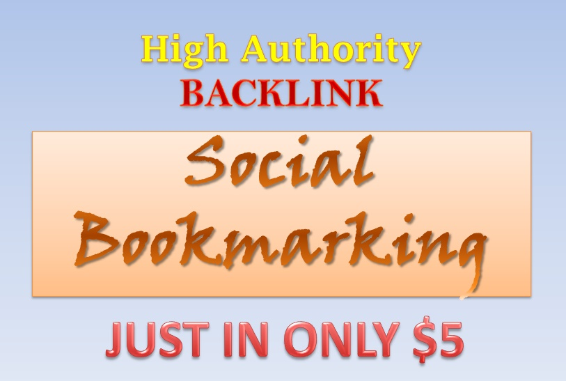 High Authority Social Bookmarking to increase your site traffic