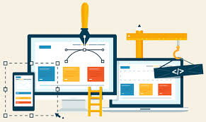 create a professional website from html,  java,  python and etc