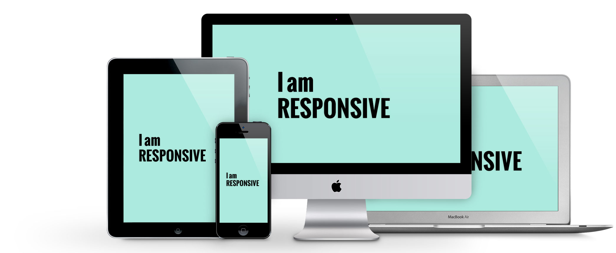 Make your web design in responsive & one page