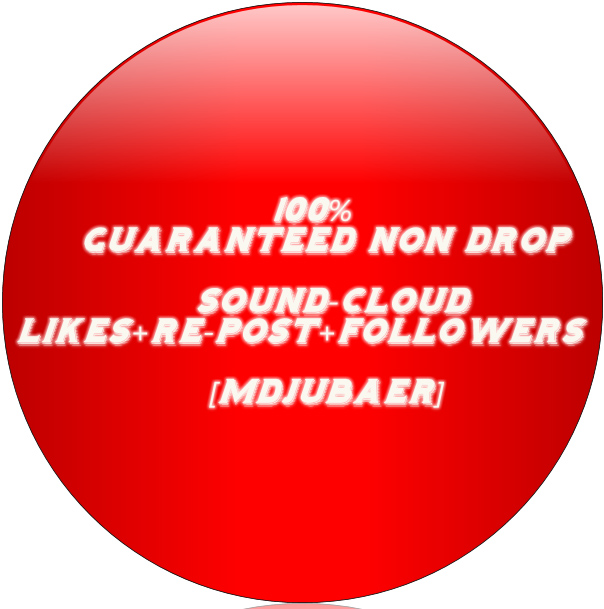 Guaranteed Non Drop 300+ Real Soundcloud Followers or Likes or Repost