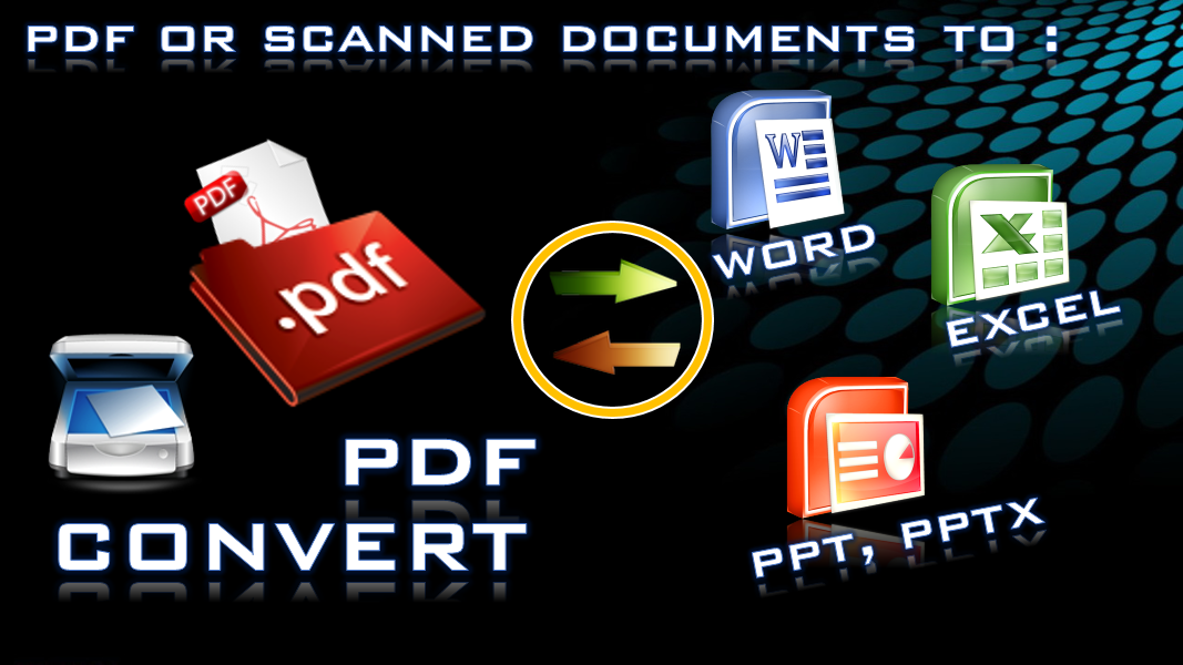 transfer pdf text to excel