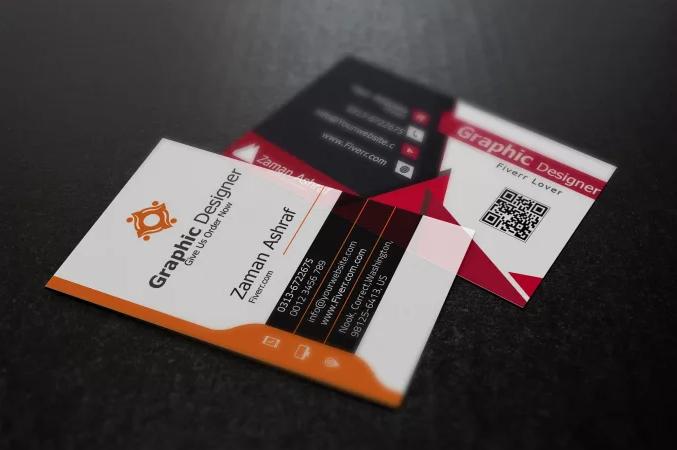 2 PROFESSIONAL Business Card+Logo Free