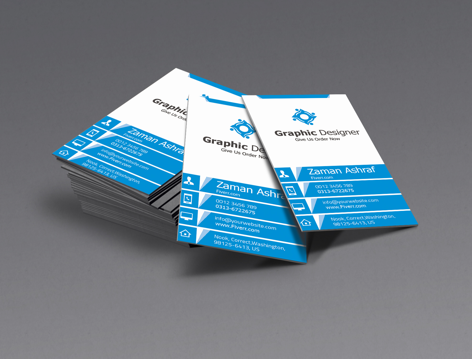 2 professional business card logo free for $5 seoclerks