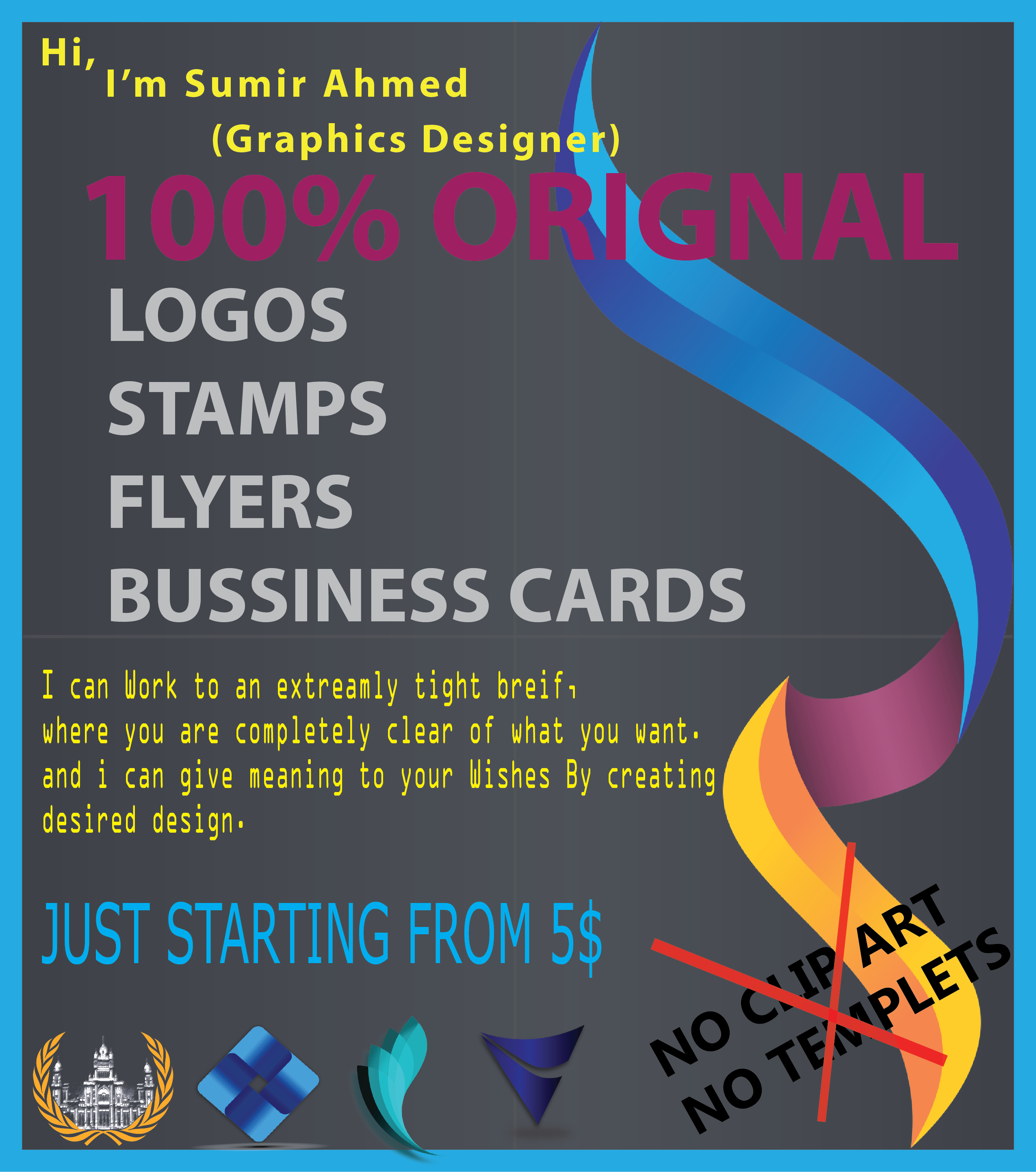 Design Logos / Business Cards Etc You want for $5 - SEOClerks
