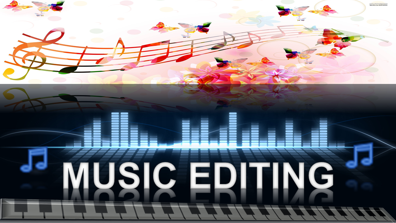 Audio Editing,  mixing,  converting music