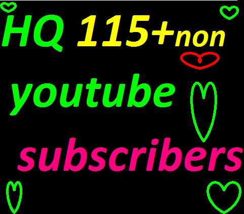 bumper  offer  115+++ Real Youtub,e  channel Subscribers only