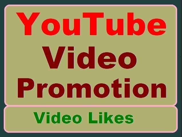 YouTube Video Thumbs up,  High-quality Promotion just
