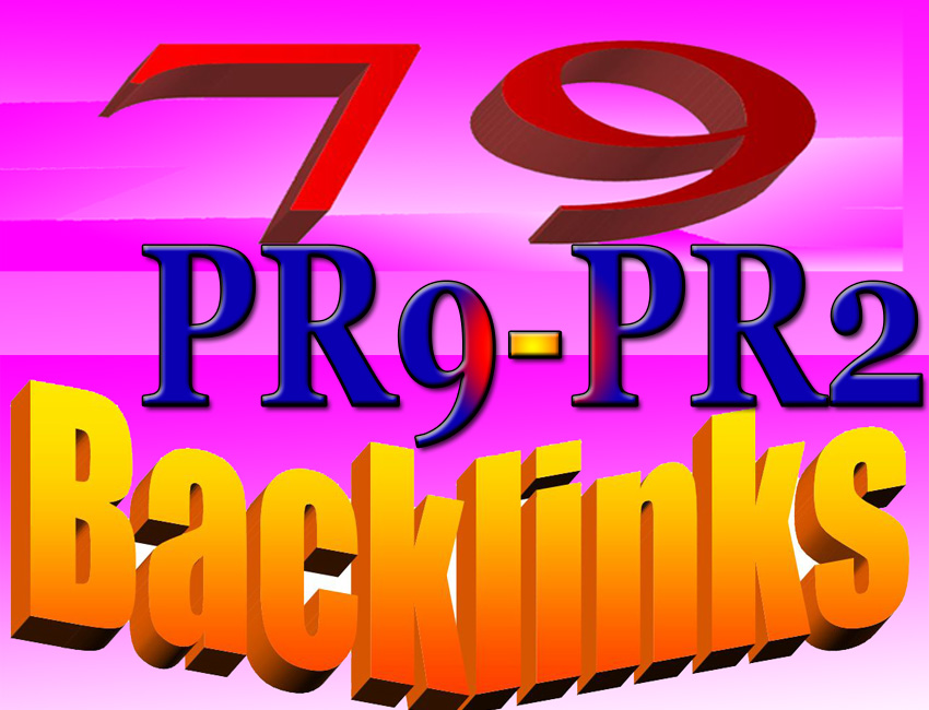 Perfect 10 Backlinks from PR9-PR6 Google Panda 4.20 Safe Guaranteed