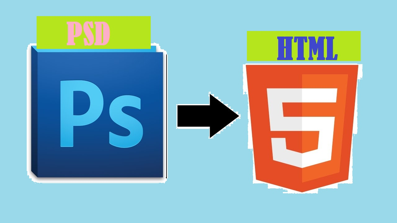 Convert Psd to Html within short time
