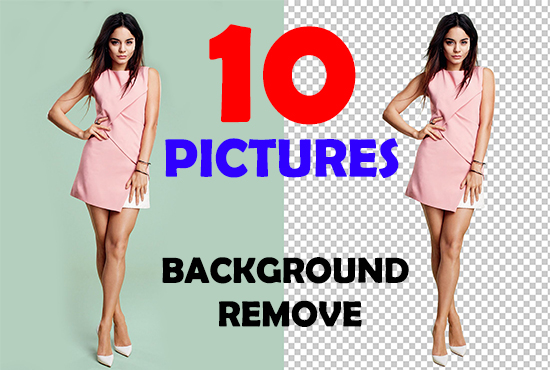 Professionally background remover or change within 24...