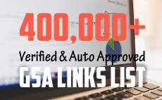 l will sell fresh gsa ser site list 325k verified aa sites