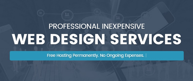 5 page website design with free hosting,  domain and ssl certficate