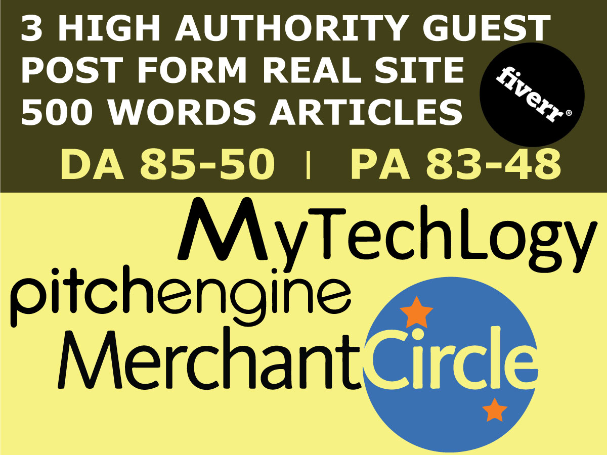 Write And Publish Guest Post On groupspaces,  MerchantCircle And olaladirectory