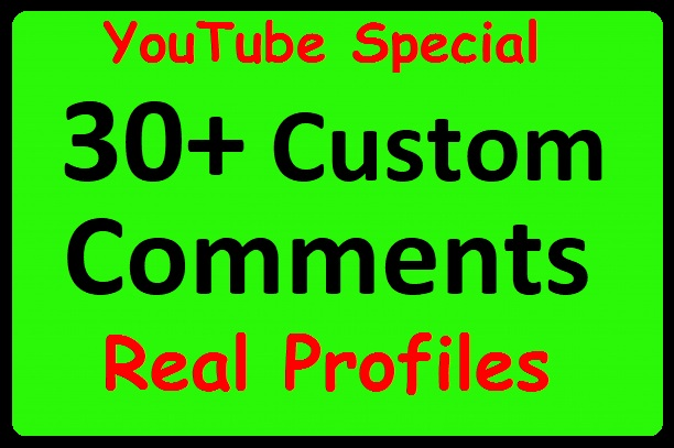 30+ YouTube Video Commants with Profile Pictures, Real accounts just