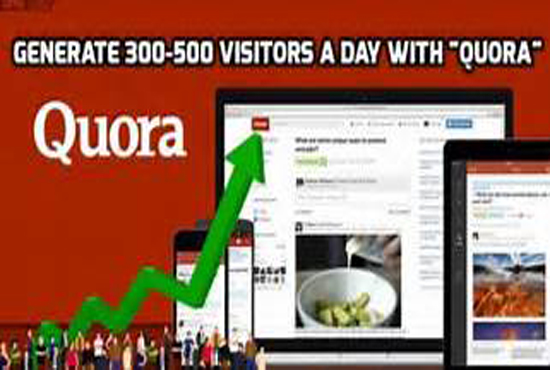 provide you 15 QUORA backlink for your website inceses traffic