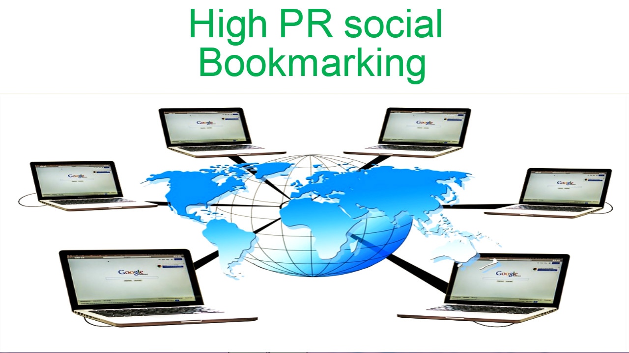 Submit your site 150 high pr social bookmarking site