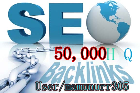 Get fast 50000 Backlinks from High Qualty Backlinks