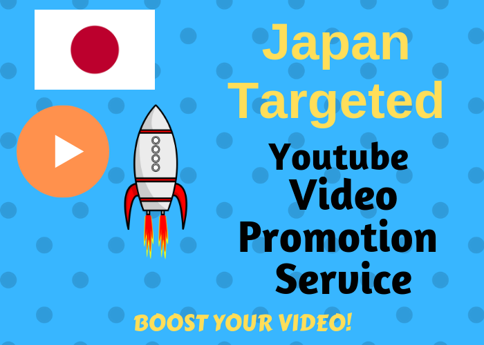 provide you Japan Targeted video Promotion services