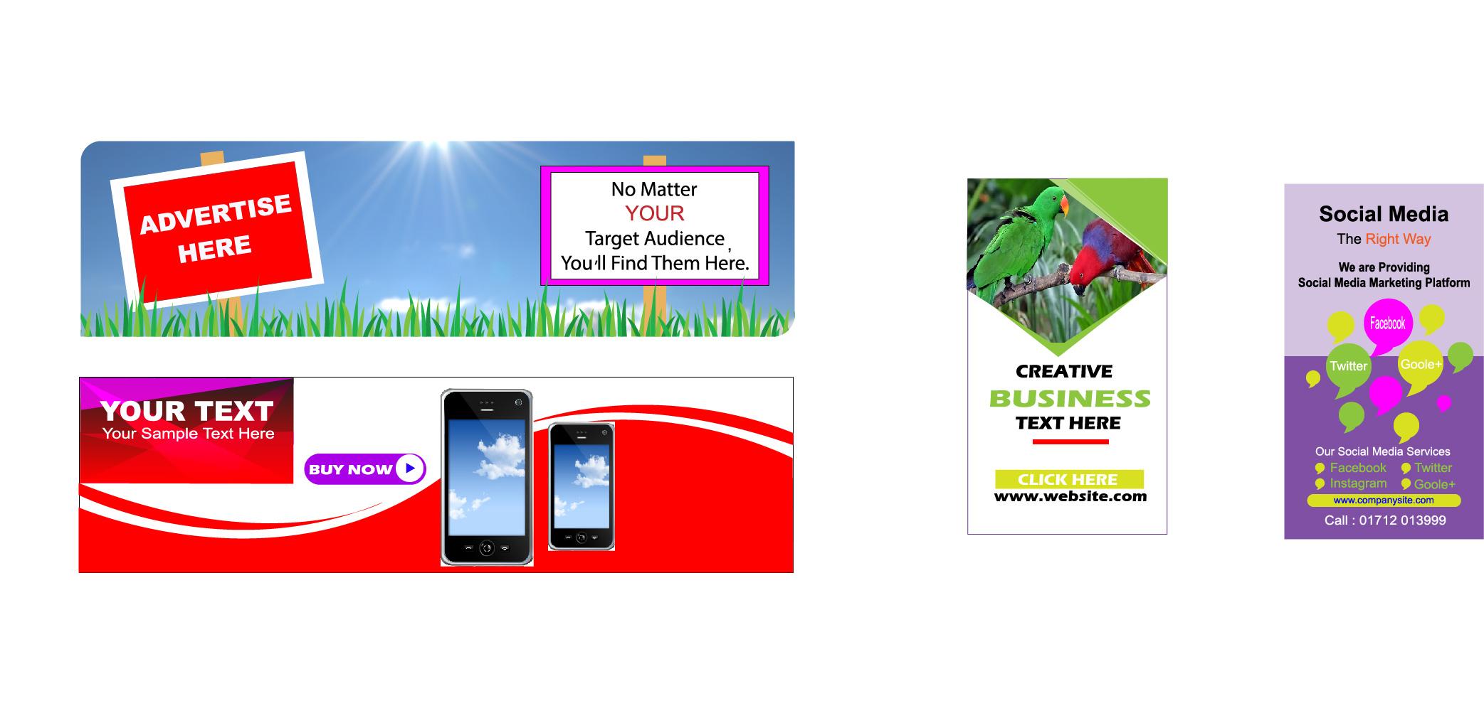 Graphic Design as T-shirt, Logo, Business Card, Banner Ads, Book ...