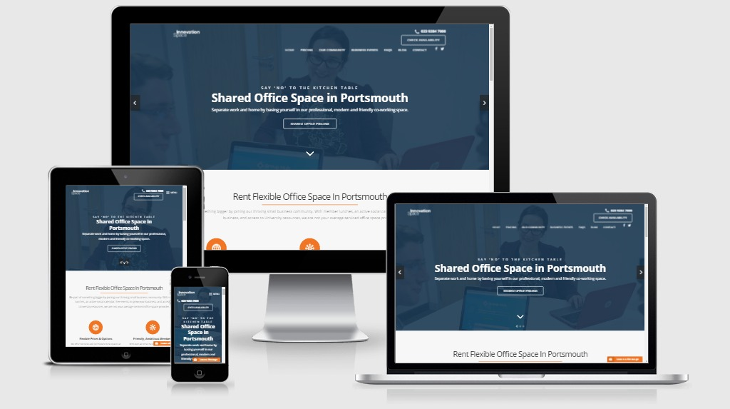 Create 3 page WordPress site