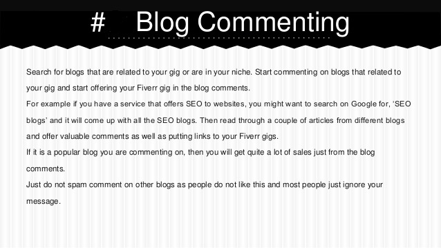 create best 120 quality blog commenting for your business and website