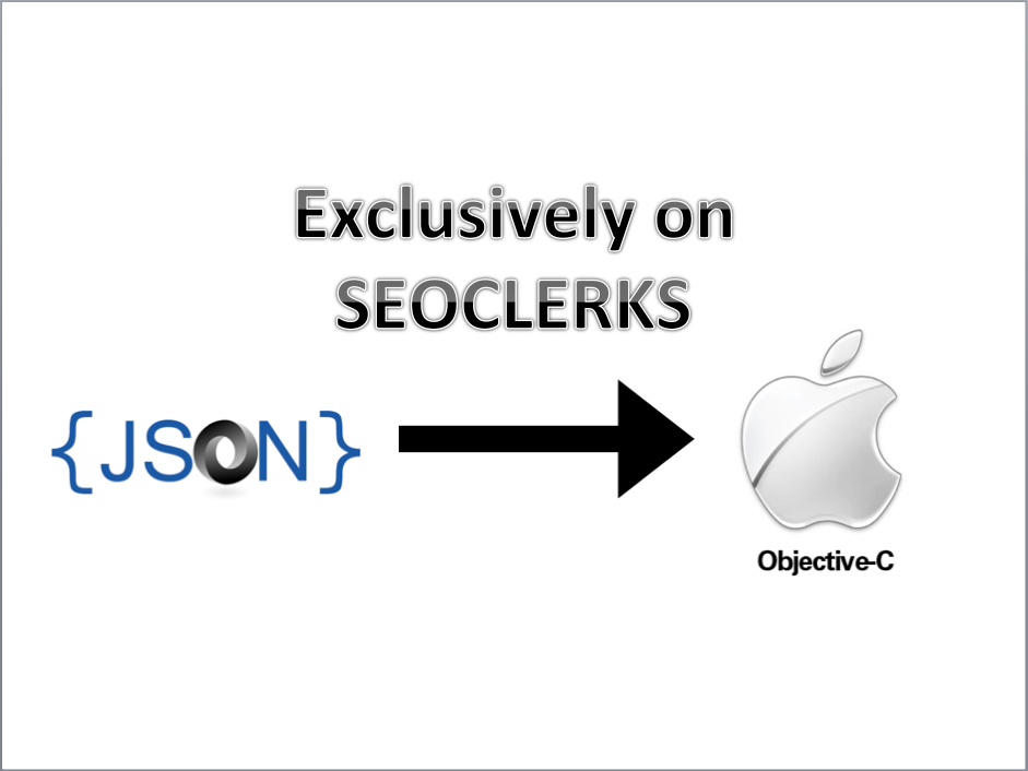 write Objective C Code to parse JSON file for $5