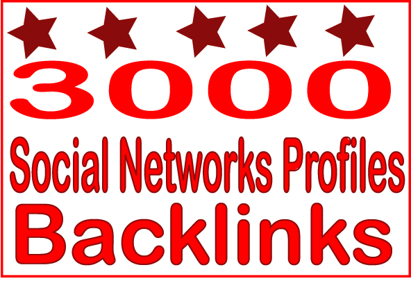 Create Over 3000 HQ PR Panda Safe Social Networks Profiles Backlinks