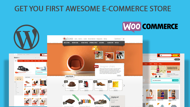 Your awesome e-commerce store using WordPress and WooCommerce