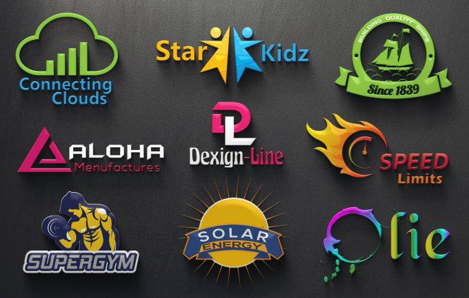 Image result for 3d logo